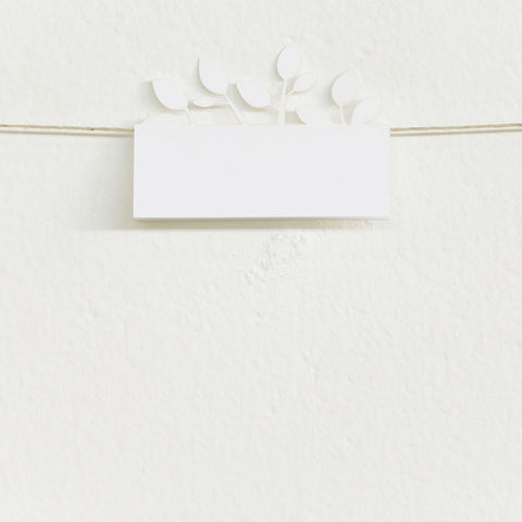 'Tree of Love' Laser-cut White, Place Cards, 50pk