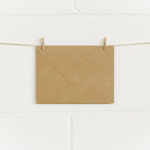 Envelopes C6X Kraft, 50pk