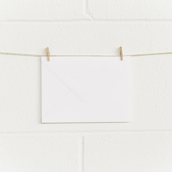 Envelopes C6X White, 50pk