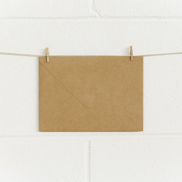 Envelopes RT180 Kraft, 50pk