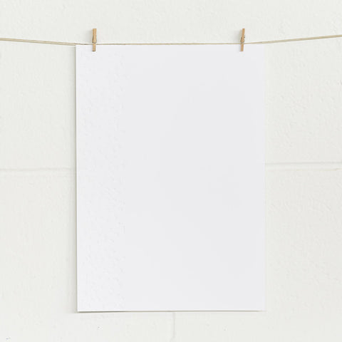 'Confetti' Embossed on White, PRINTme Paper, 10pk