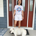 MidAtlantic Bulldog Rescue x D&W Tee (White)