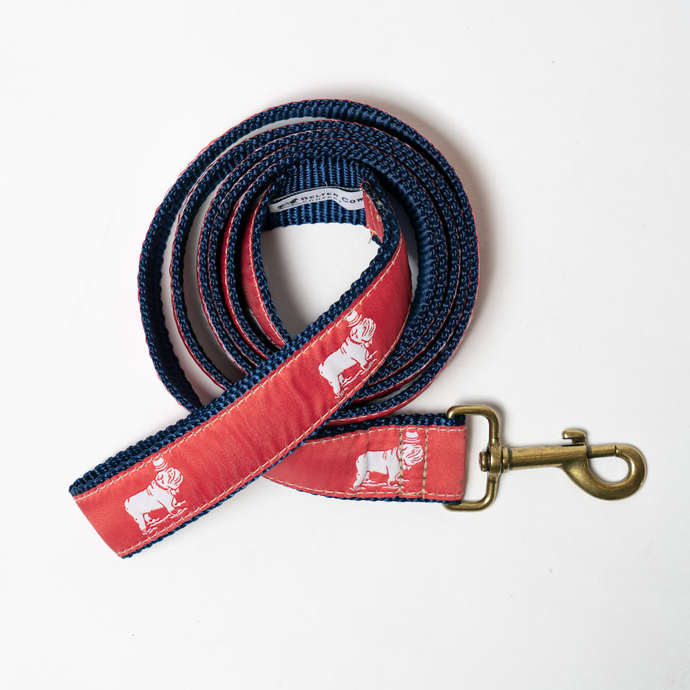 Signature Ribbon Leash (Nantucket Red)