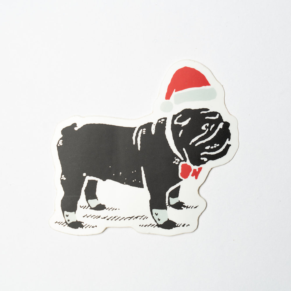 Santa Duke Sticker