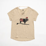 Surfer Duke Scoop Tee (Heather Oatmeal)