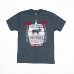 Victory Brewing Tee (Heather Navy)