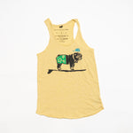 Surfer Duke Tank (Heather Yellow)
