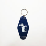 Duke Logo Key Tag (Navy)