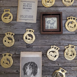 Boston Terrier Horse Brass