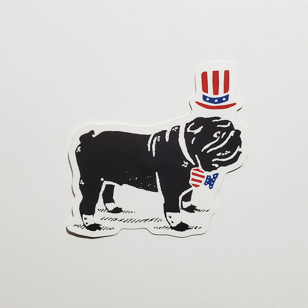 Red, White & Duke Sticker
