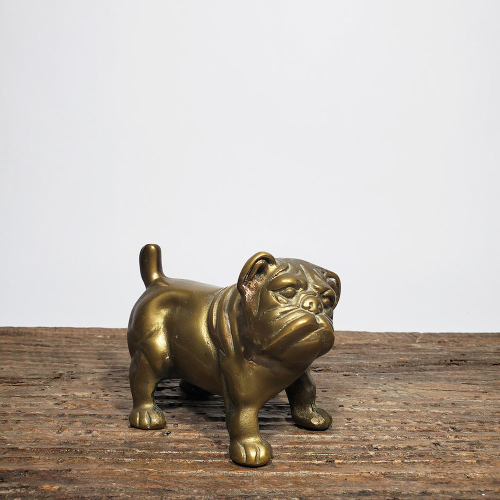 Vintage Brass Bulldog Paperweight 2 - SOLD OUT