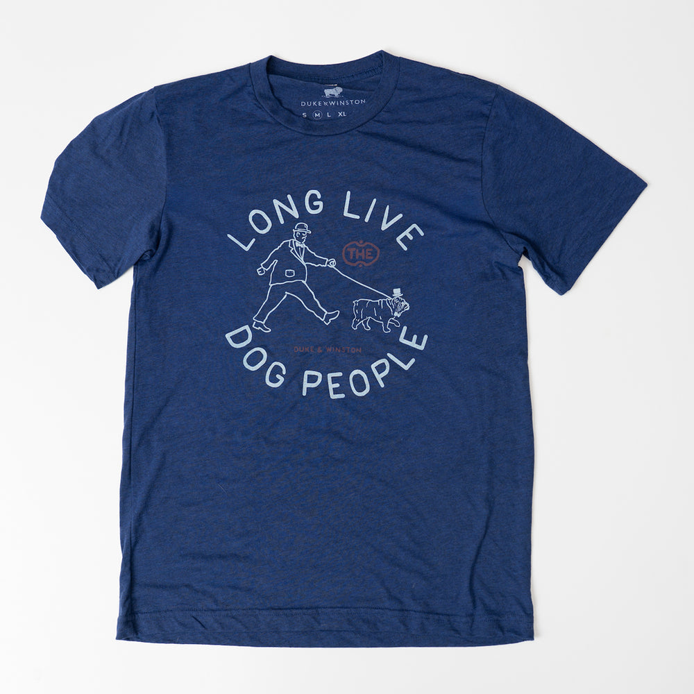 Long Live Dog People (Heather Navy)