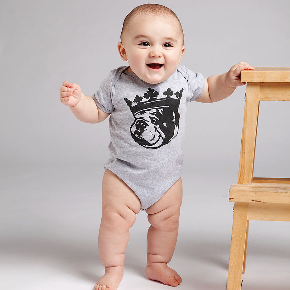 Crown Duke Onesie (Athletic Grey)