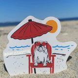 Beach Duke Sticker