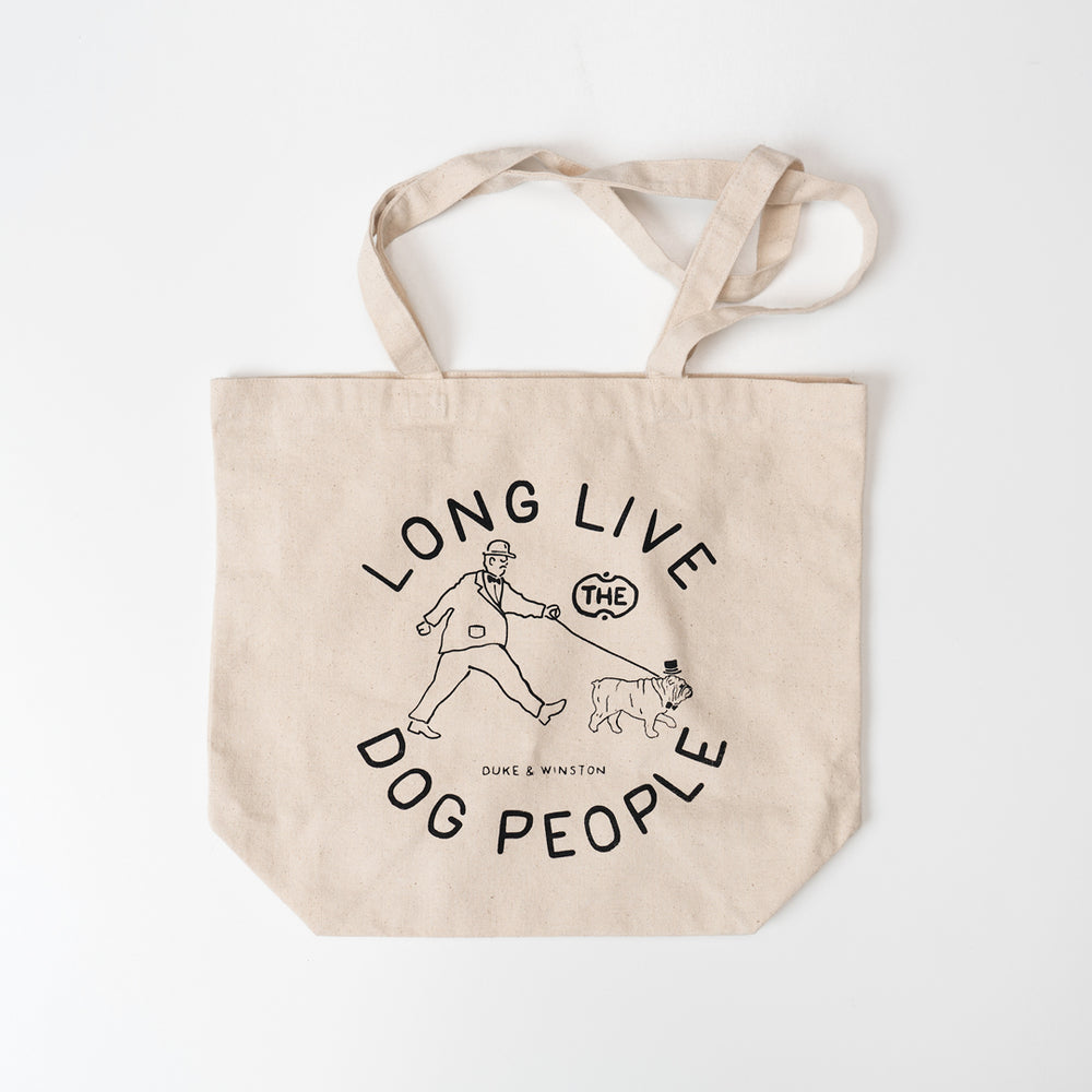 Long Live Dog People Tote Bag