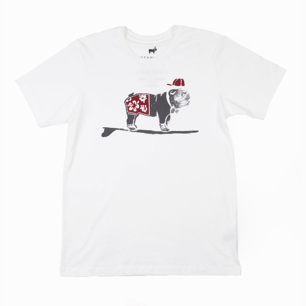 Surfer Duke Tee (White)