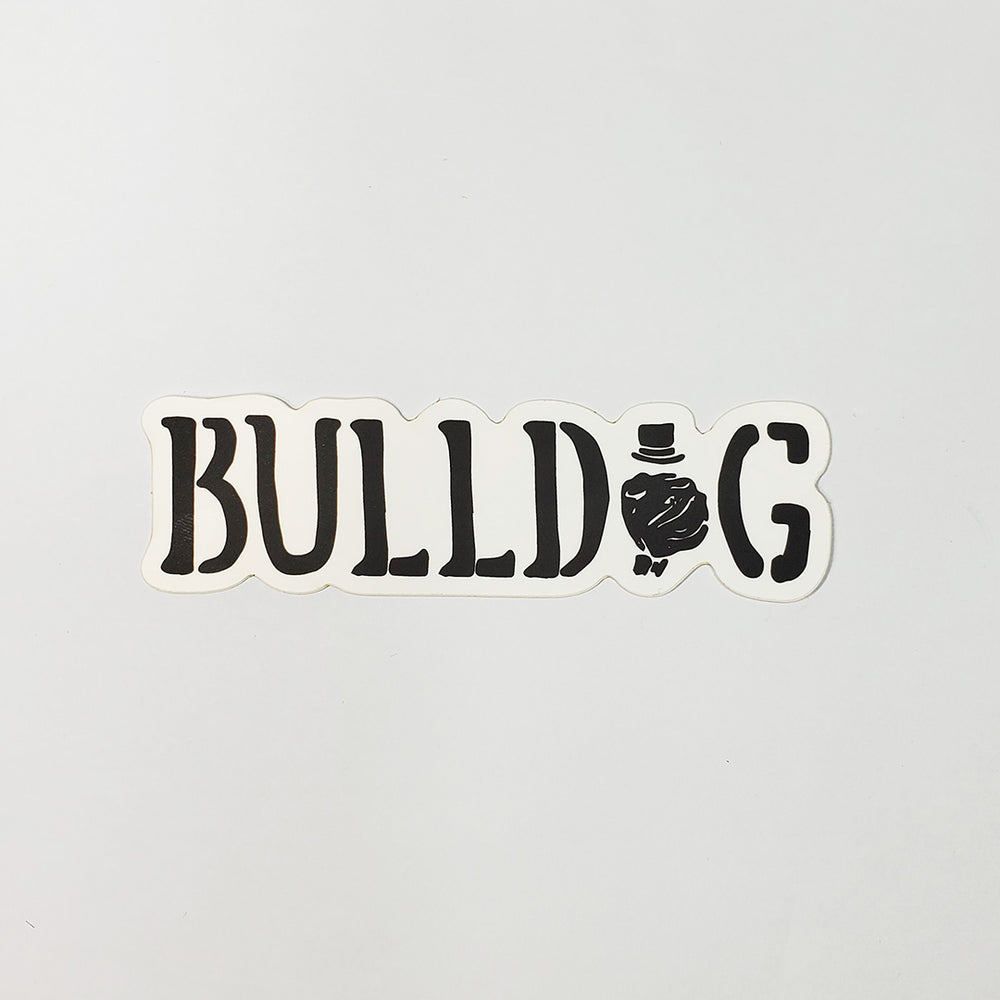 Bulldog Sticker