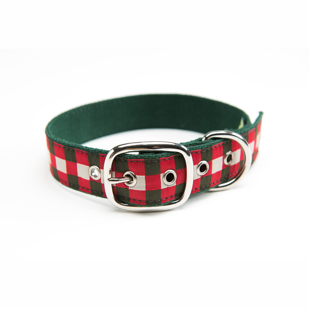 Royal Scot Ribbon Dog Collar
