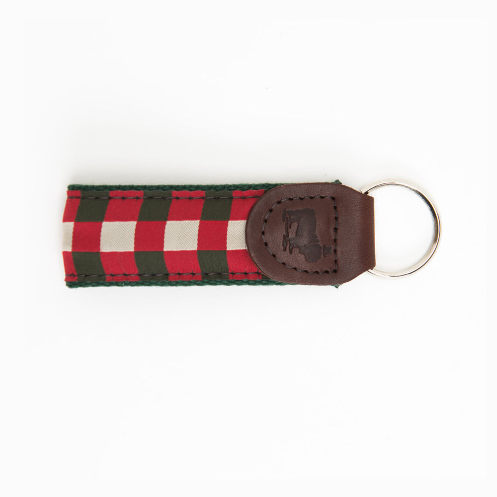 Royal Scot Ribbon Key Fob