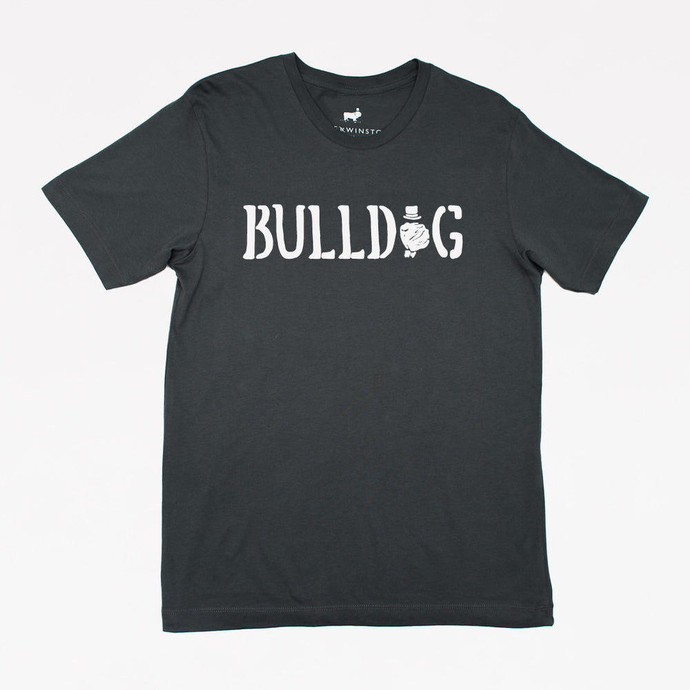 The Bulldog Tee (Dark Grey)