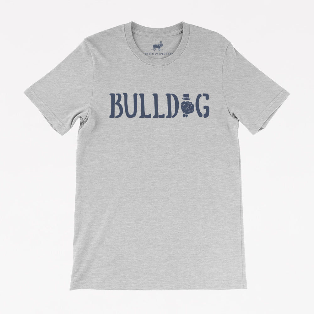 The Bulldog Tee (Athletic Heather)