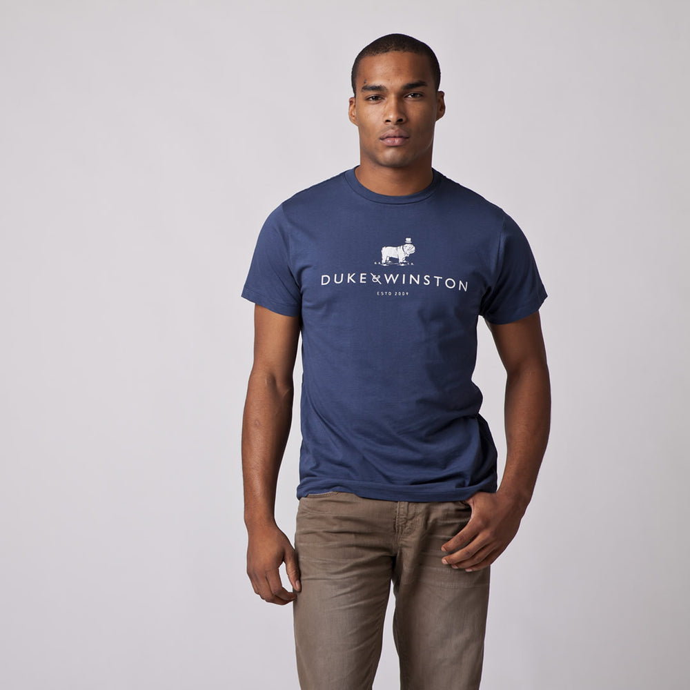 The Logo Tee (Navy)