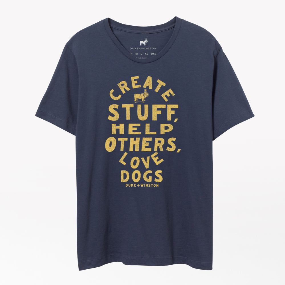 Create Stuff Tee (Navy)
