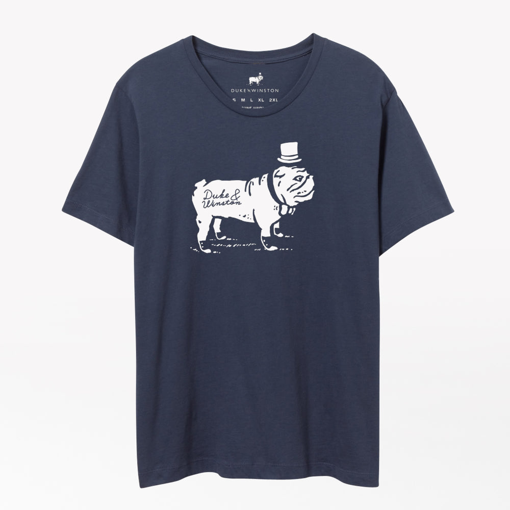 Big Duke Logo Tee (Navy)
