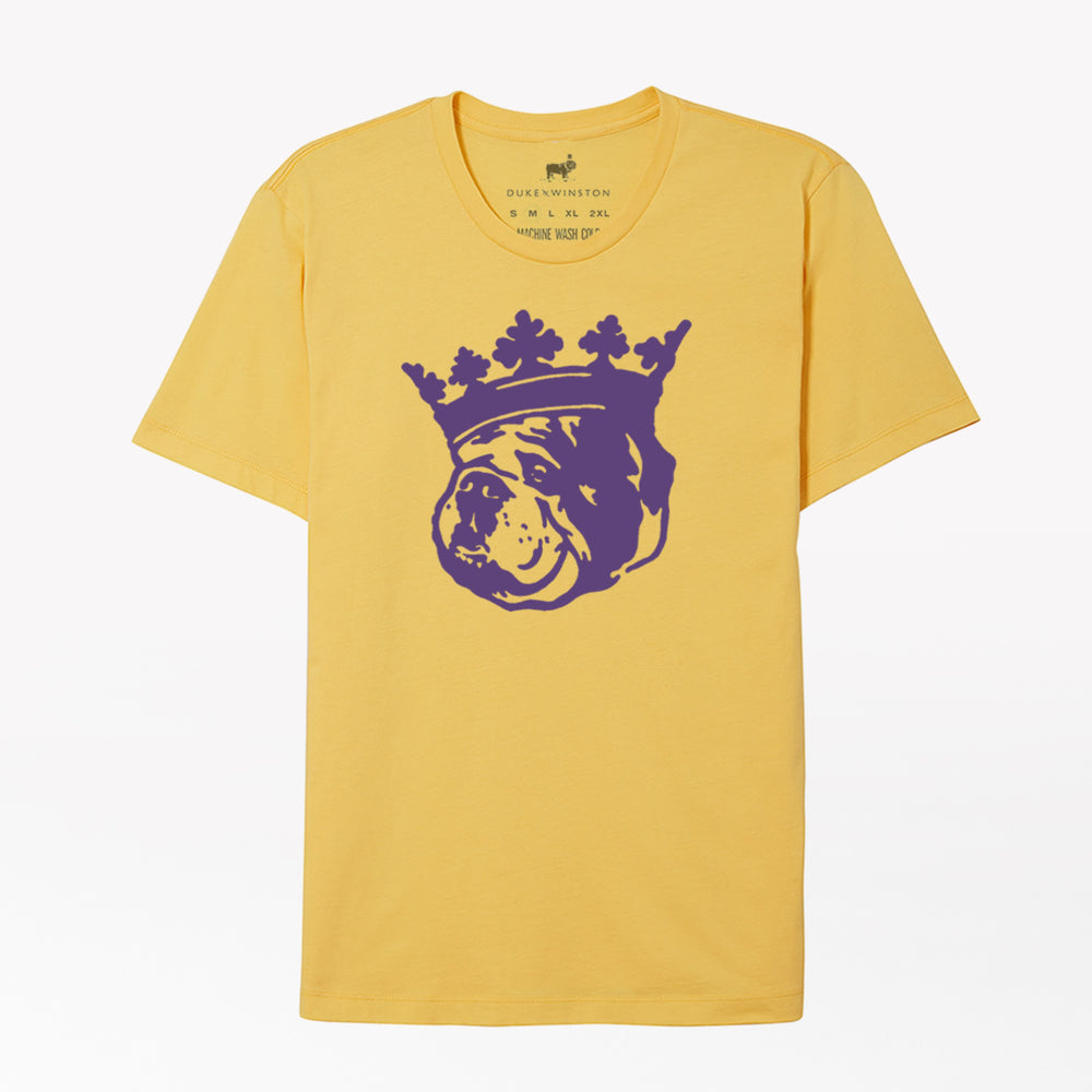 Crown Duke Tee (Heather Gold)