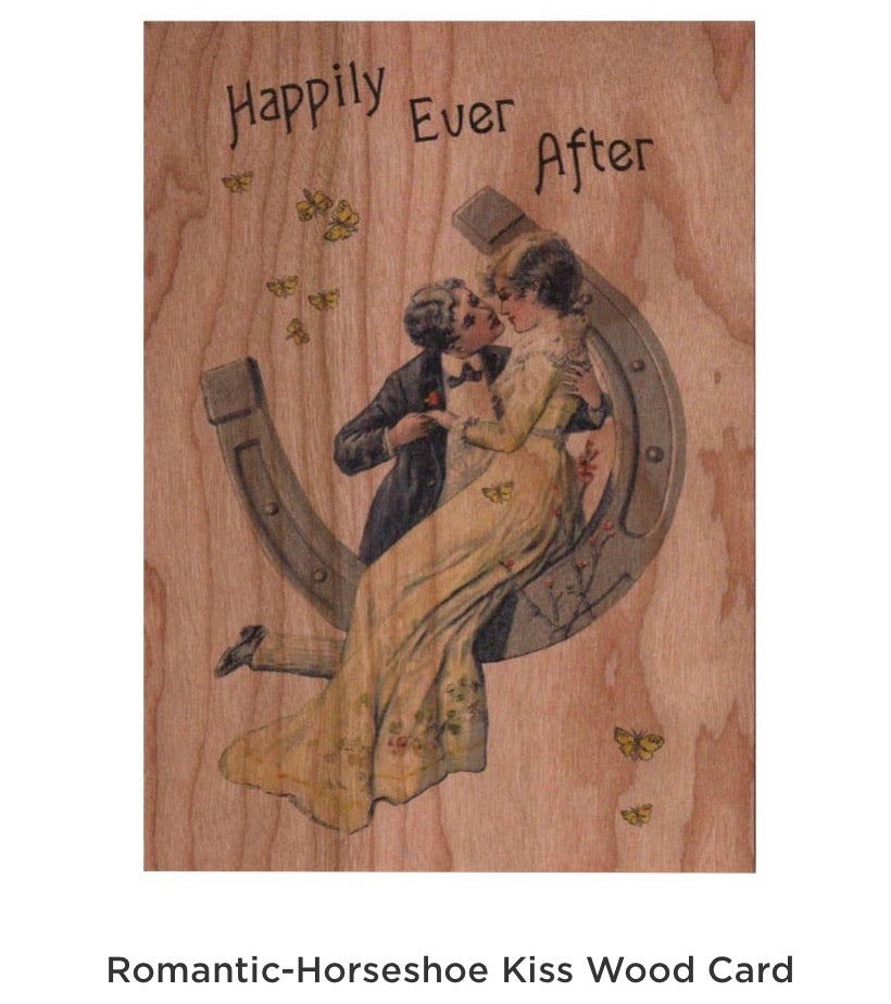 Romantic horseshoe Card