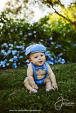 Blue Artie Newsboy Set