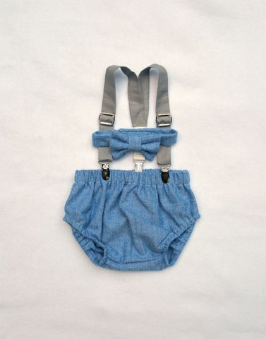 Blue and Slate Oliver Set