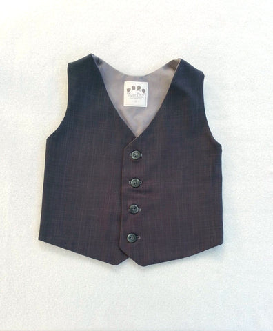 Ready to Ship Charcoal Gray Vest