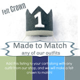 Crown - Made to Match Any of Our Outfits!