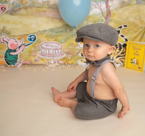 Henry Newsboy Set in Gray