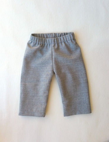 Pants or Shorts in Heather Gray Suiting