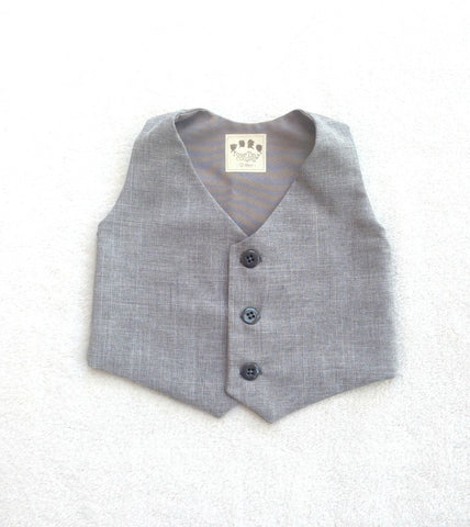 Ready to Ship Vest in Heather Gray