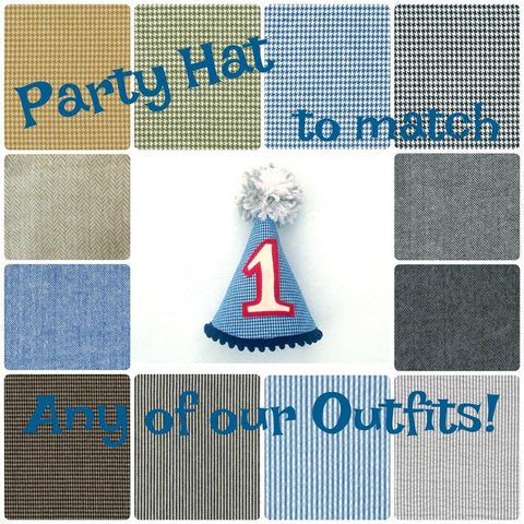 Party Hat - Made to Match Any of Our Outfits!