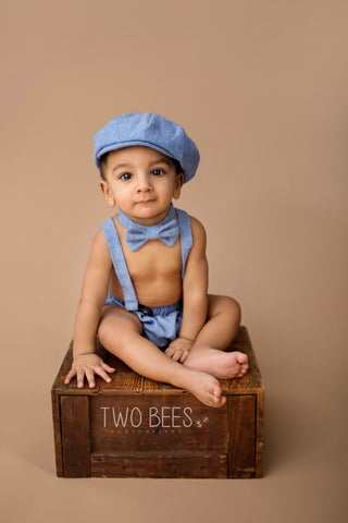 Blue Arthur Newsboy Set