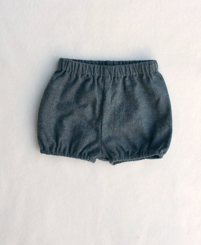 Ready to Ship Charcoal Herringbone Shorties