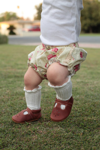 Ivory and Rose Bloomers