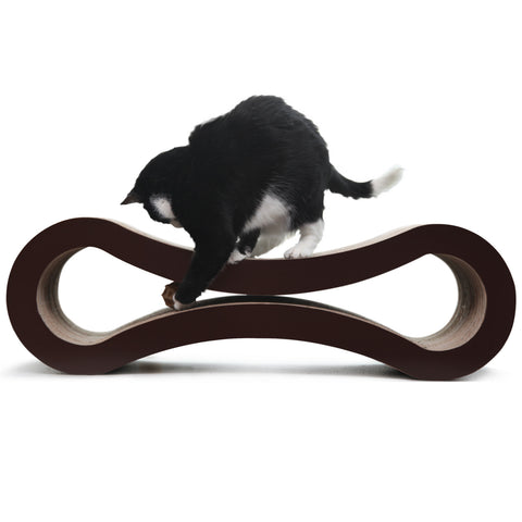 D&C Infinity Cat Scratcher and Lounge - Deluxe Cat Scratcher