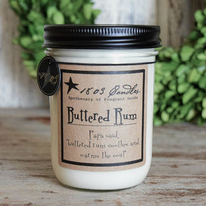 Buttered Rum- Jar Candle