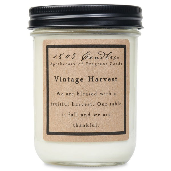Vintage Harvest - Jar Candle
