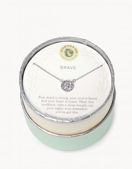 Spartina Necklace - Brave