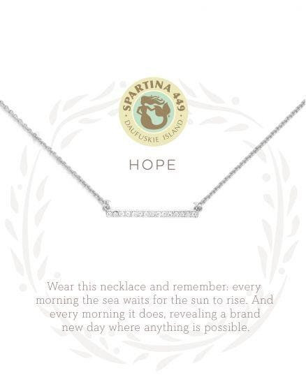 Spartina Necklace - Hope