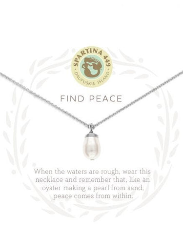 Spartina Necklace - Find Peace