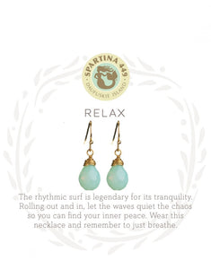 Earrings - Relax/Water Drop