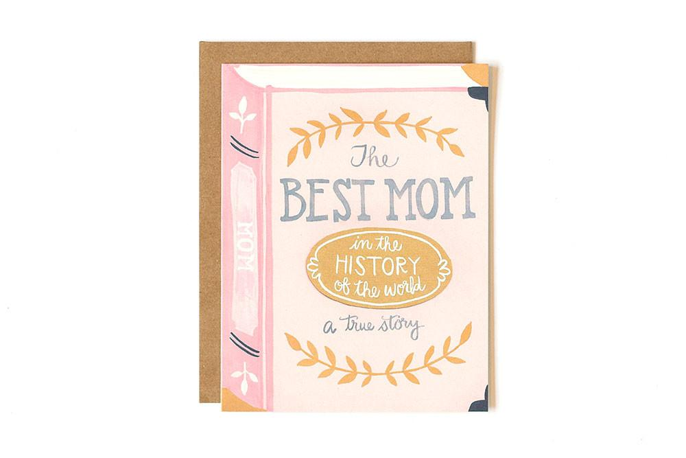 Greeting Card - Best Mom
