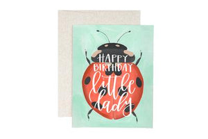 Greeting Card - Ladybug Birthday